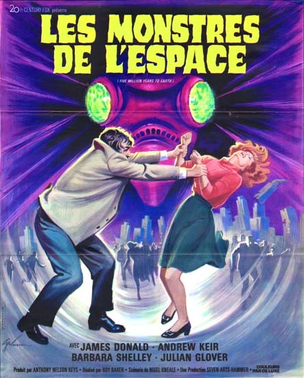 Poster francese del film L\'astronave degli esseri perduti