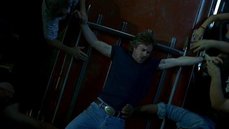 Sam Merlotte (Sam Trammell) in un'immagine dell'episodio 'New World In My View' della serie True Blood