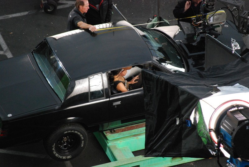 Un'immagine dal set del film Fast and Furious - Solo parti originali