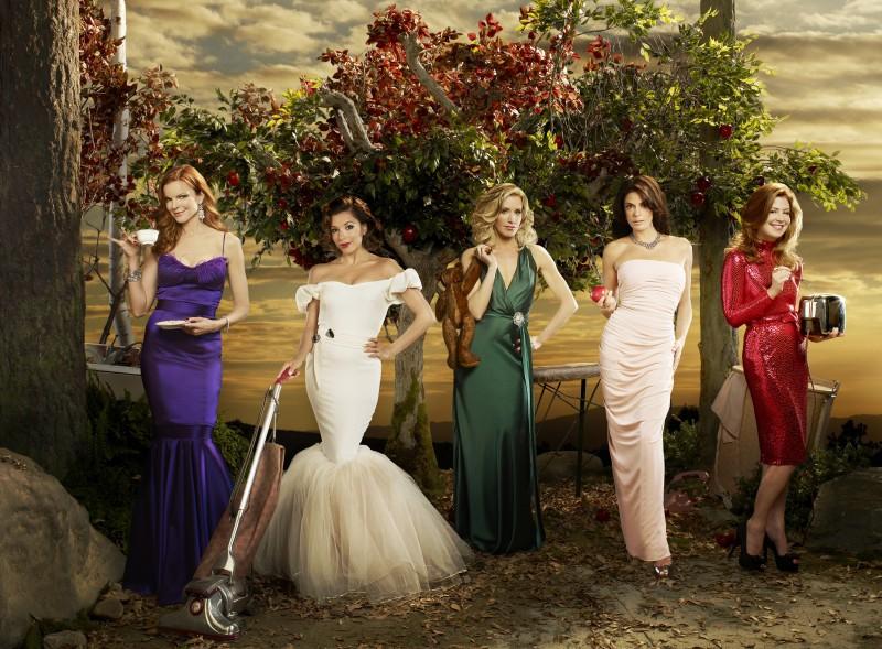 Un'immagine promozionale del cast della stagione 6 di Desperate Housewives