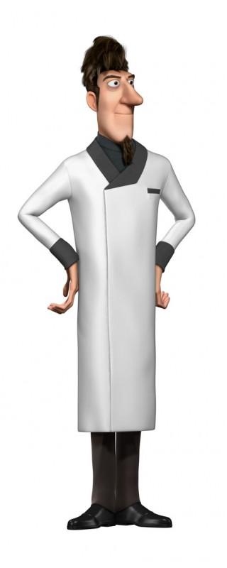 Un'immagine promozionale del Dr. Tenma di Astro Boy