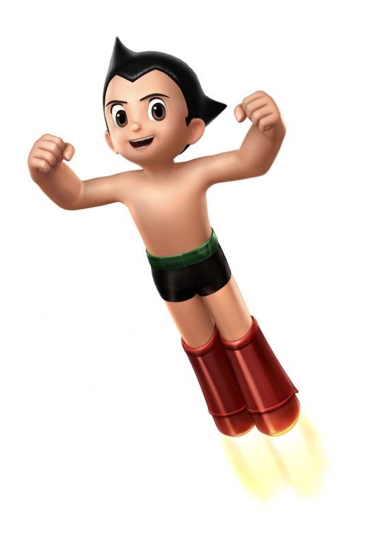 Un'immagine promozionale del film d'animazione Astro Boy