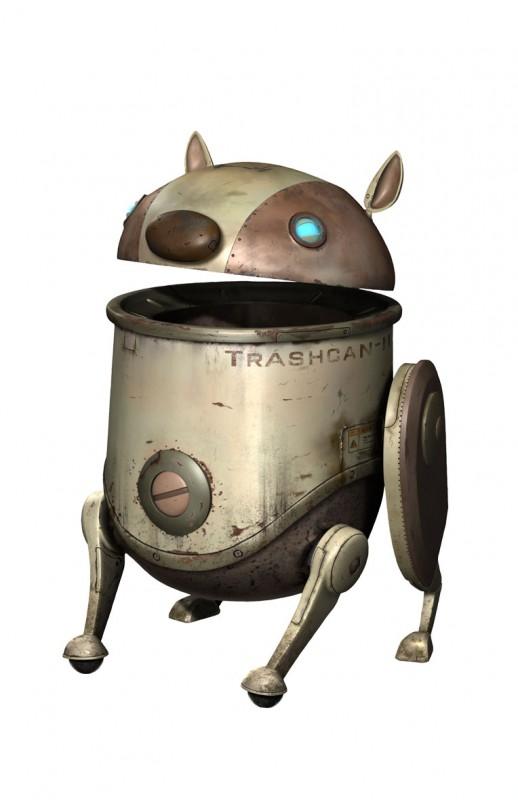 Un'immagine promozionale di un personaggio del film Astro Boy