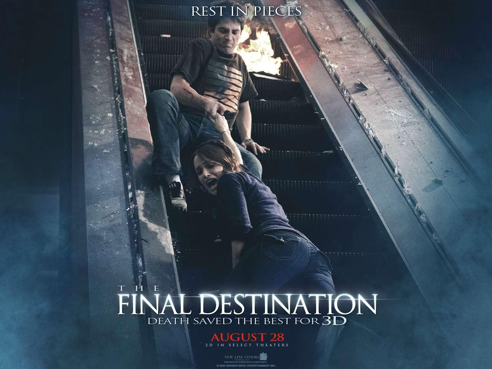 Un wallpaper del film The Final Destination