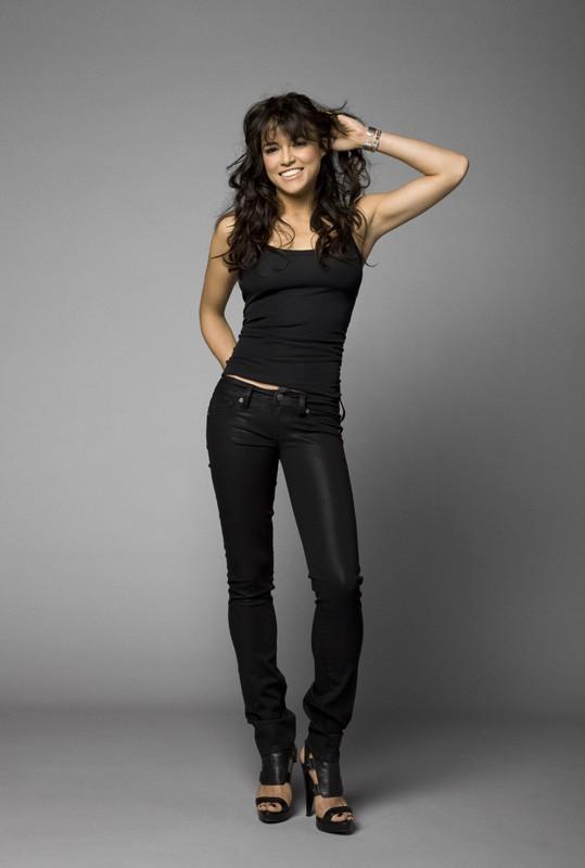 Una foto promozionale di Michelle Rodriguez per il film 'Fast and Furious - Solo parti originali'