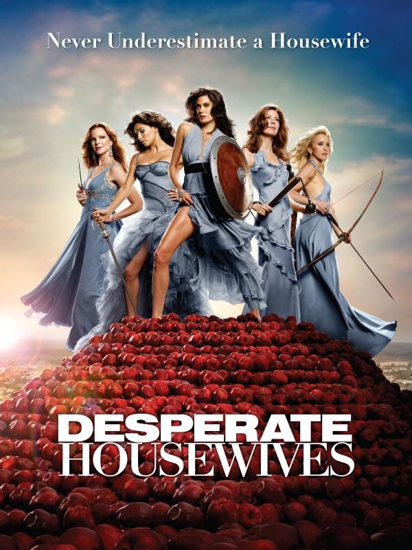Uno dei poster della stagione 6 di Desperate Housewives