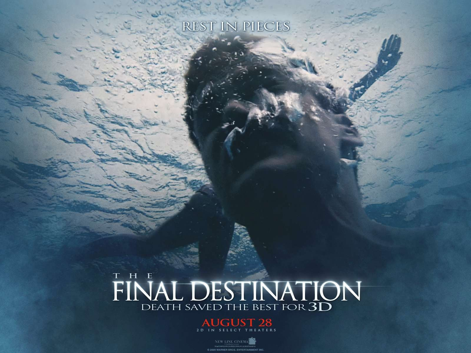Wallpaper dell'horror The Final Destination