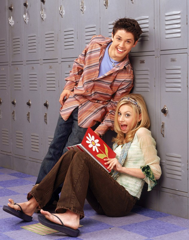 Alyson Michalka e Ricky Ullman in un'immagine promozionale per la stagione 1 di Phil of the Future