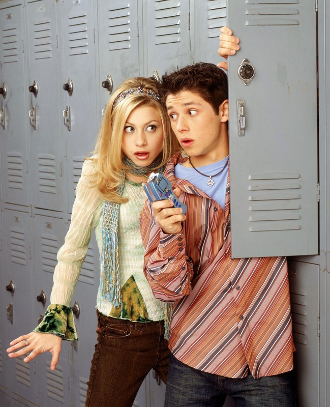 Alyson Michalka (Keely Teslow) e Ricky Ullman (Phil Diffy) per la stagione 1 di Phil of the Future