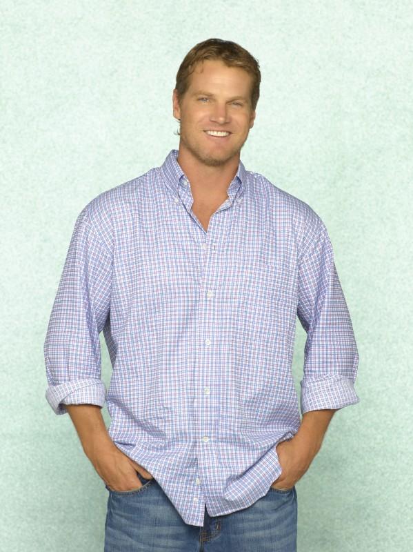 Brian Van Holt in una immagine promozionale della serie TV Cougar Town