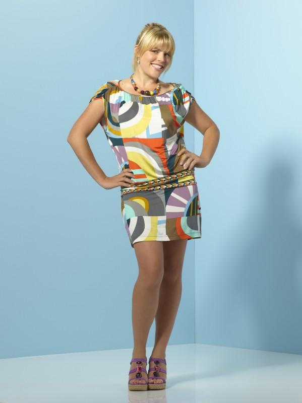 Busy Philipps in una foto promozionale della serie TV Cougar Town