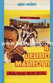 La locandina di Il delitto Matteotti