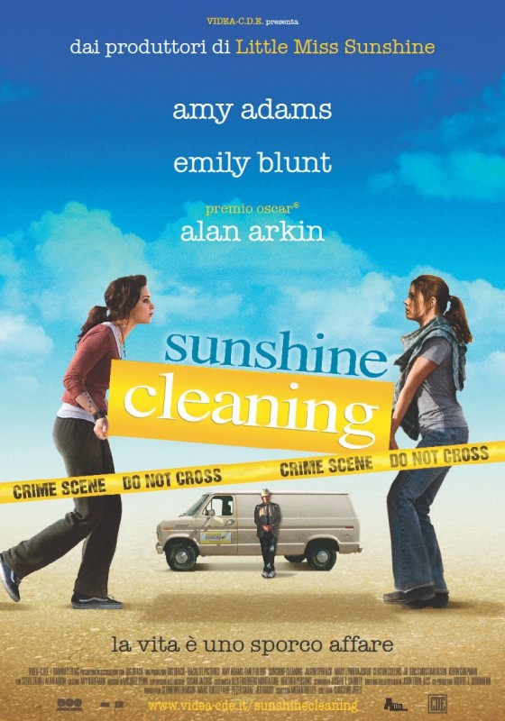 La locandina italiana di Sunshine Cleaning