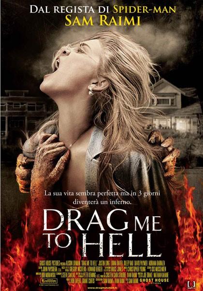 Locandina italiana definitiva del film Drag Me to Hell