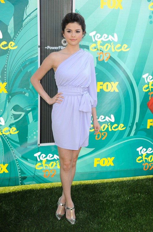 Selena Gomez ai Teen Choice Awards 2009