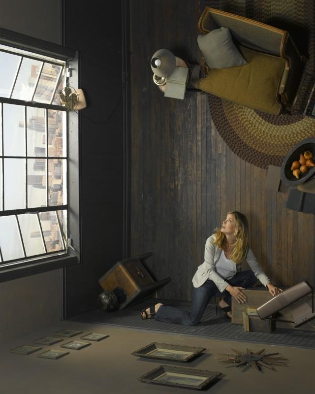Sonya Walger è Olivia Benford nella serie FlashForward