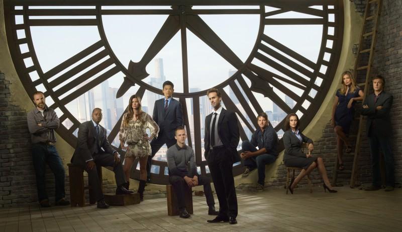 Una foto promozionale del cast di FlashForward