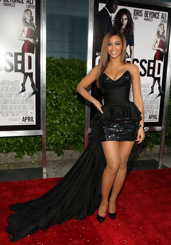 Beyoncé Knowles alla premiere New Yorkese del film Obsessed nel 2009