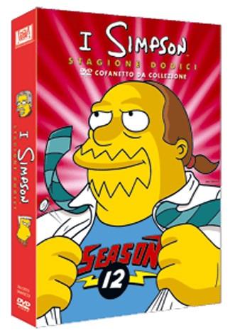 La copertina di I Simpson - Stagione 12 (dvd)