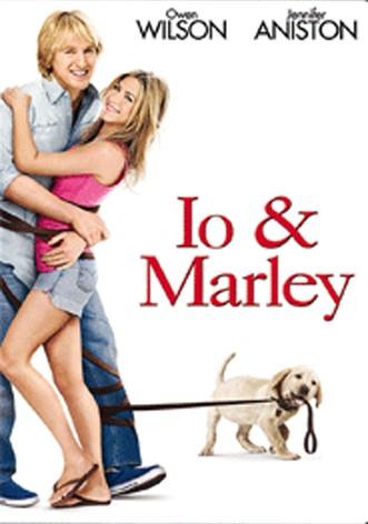 La copertina di Io & Marley (dvd)