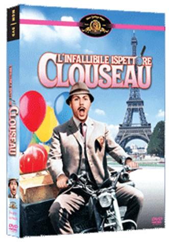 La copertina di L'infallibile ispettore Clouseau (dvd)