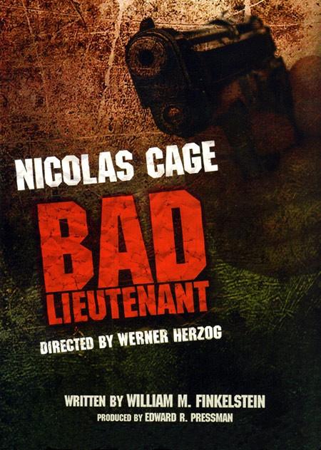La locandina di Il cattivo tenente - The Remake