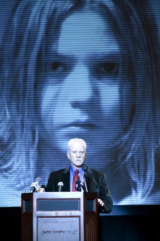 Malcolm McDowell in un'immagine dell'horror Halloween 2 diretto da Rob Zombie