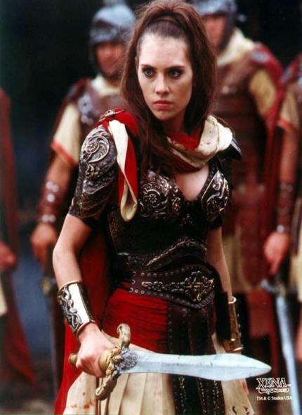 Adrienne Wilkinson è Eve nel serial Xena