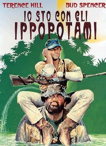 La locandina di Io sto con gli ippopotami