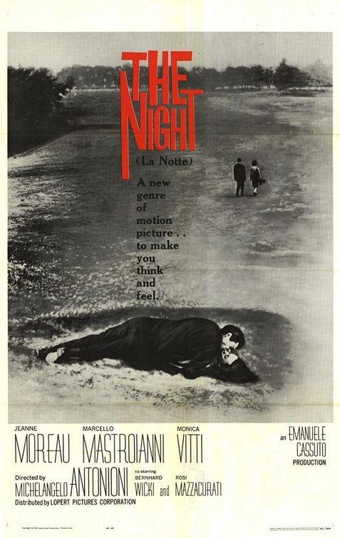 La locandina di La notte