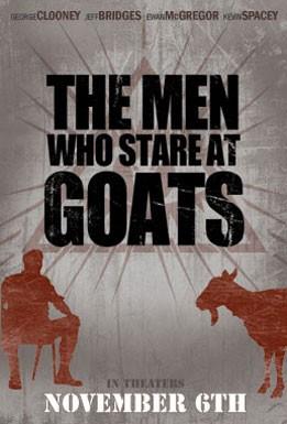 La locandina di The Men Who Stare at Goats