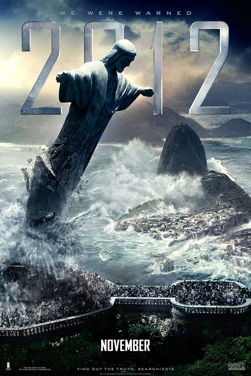 Poster internazionale n. 2 per il disaster movie 2012