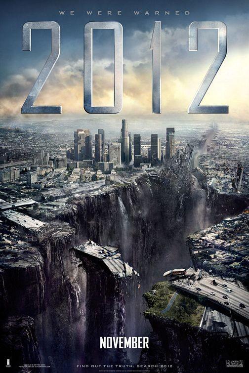 Poster internazionale n. 3 per il disaster movie 2012