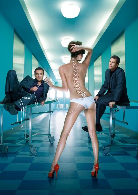 Un'immagine promozionale della stagione 6 di Nip/Tuck