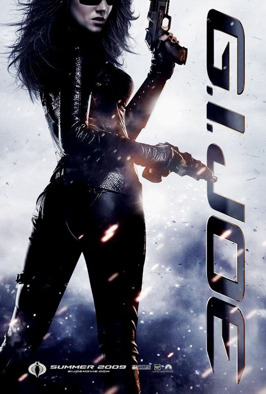 Character Poster per il film G. I. Joe: Baroness (Sienna Miller)