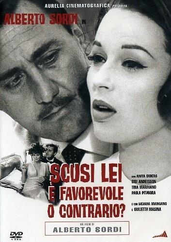 Copertina del film Scusi, lei è favorevole o contrario? (1967)