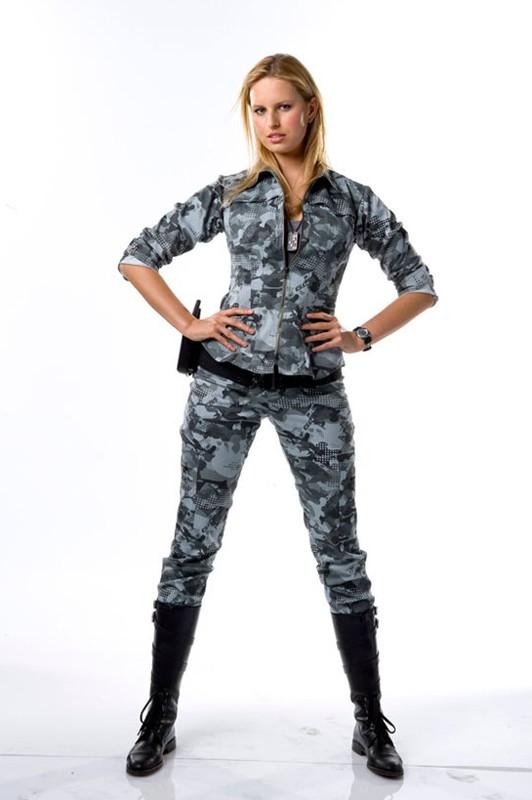 Karolina Kurkova in un'immagine promo per il film G.I. Joe: La nascita dei Cobra