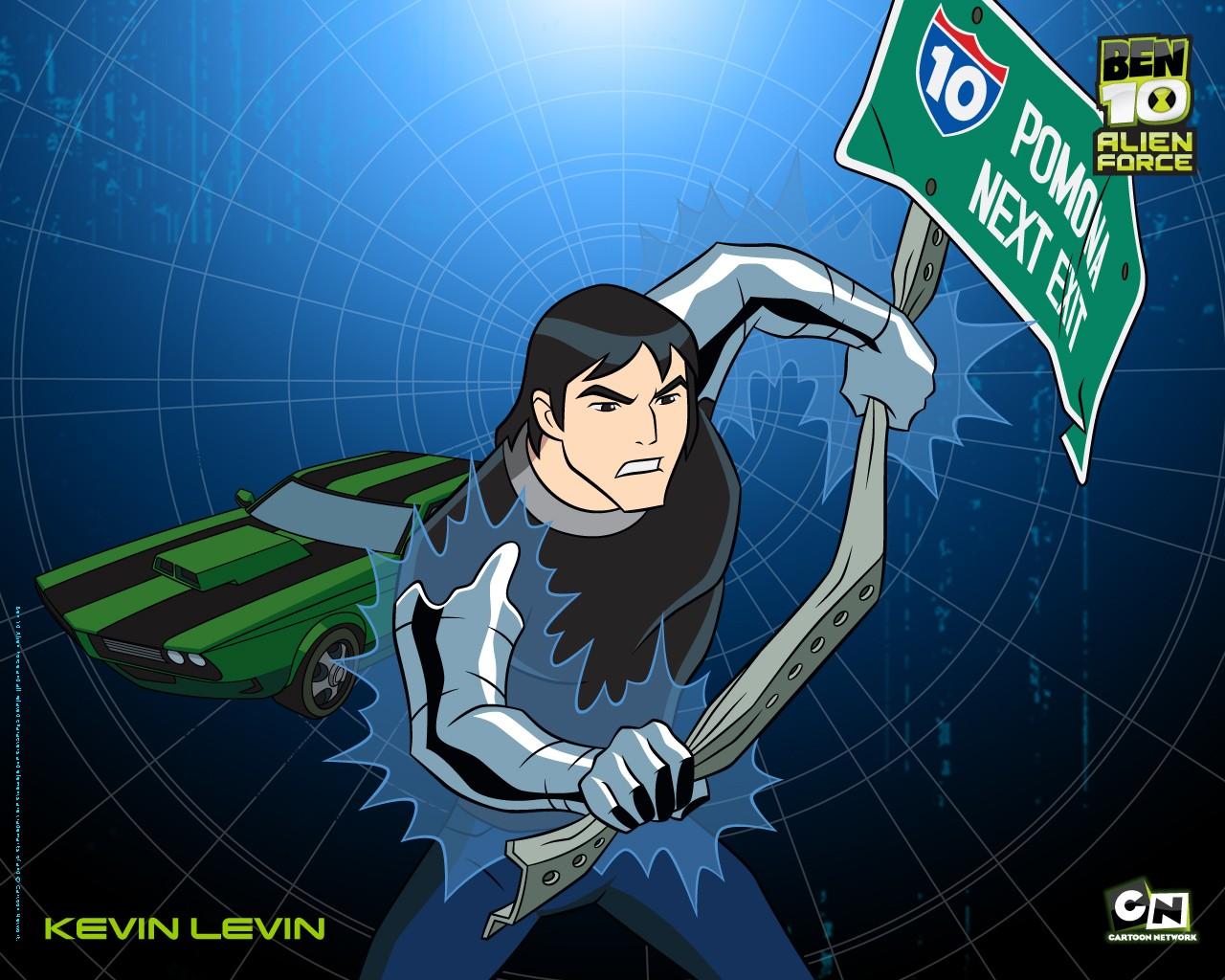 Kevin Levin in un wallpaper della serie animata Ben 10