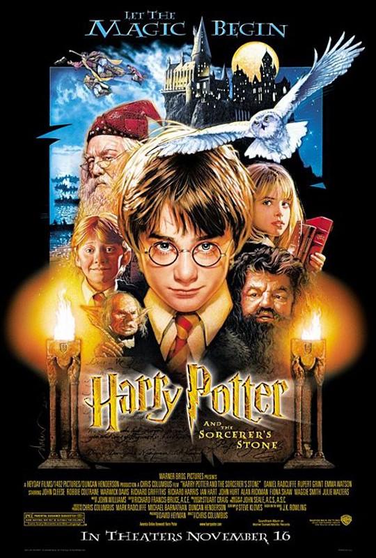 La locandina del film Harry Potter e la Pietra Filosofale