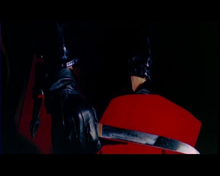 Le celebri mani del killer del film L\'uccello dalle piume di cristallo (1971)