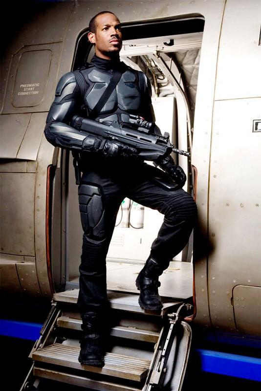 Marlon Wayans è Ripcord in un'immagine promo di G.I. Joe: Rise of Cobra