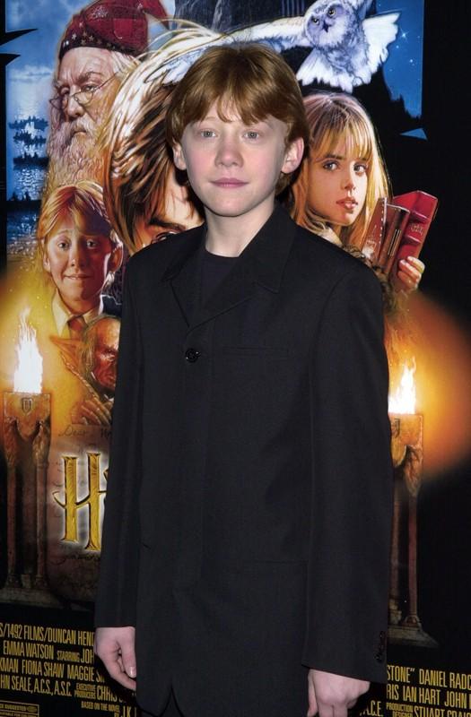 Rupert Grint alla premiere New Yorkese del film Harry Potter e la Pietra Filosofale