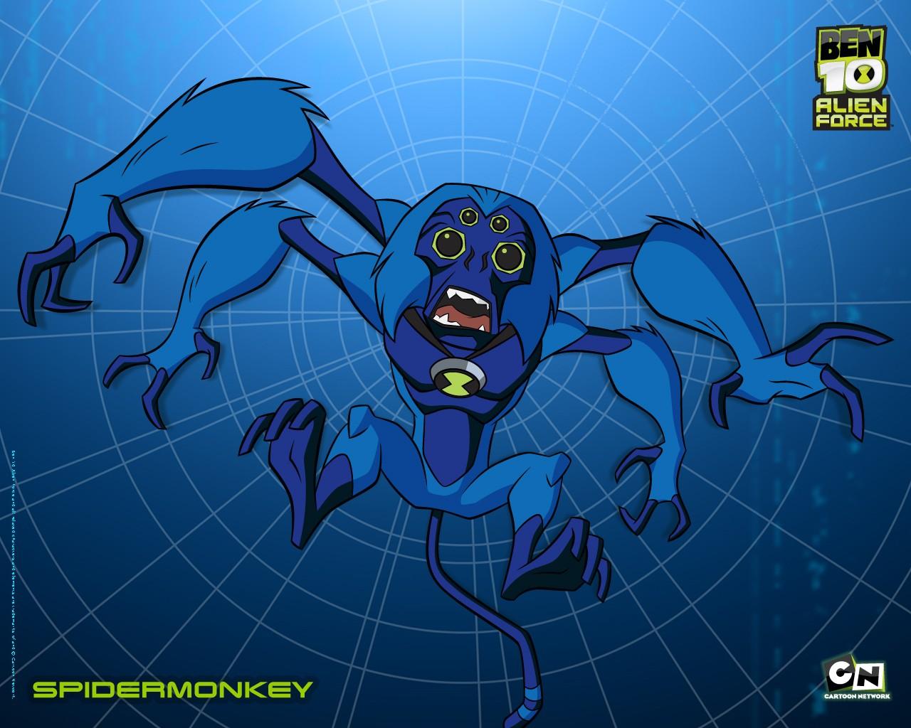 Scimparagno in un wallpaper della serie animata Ben 10