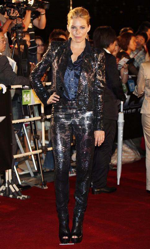 Sienna Miller a Toyko, alla premiere del film G.I. Joe The Rise Of Cobra, Luglio 2009