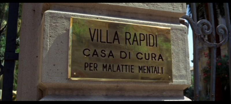 Una immagine del film Quattro mosche di velluto grigio (1971)
