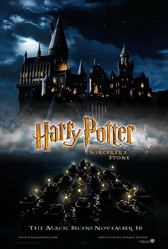 Una seconda locandina americana per il film Harry Potter e la pietra filosofale