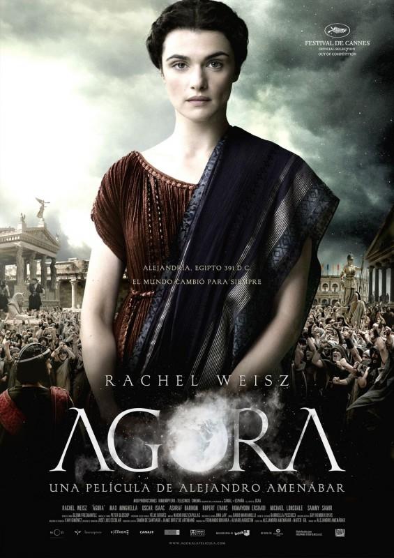 Una splendida locandina per il film Agora di Amenabar