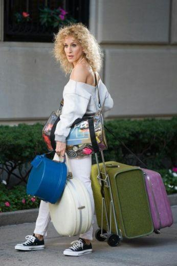 Sarah Jessica Parker gira un flashback ambientato negli anni '80 sul set di Sex and the City 2