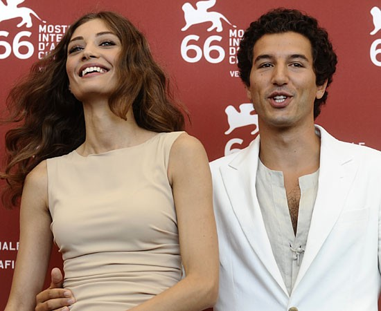 Venezia 2009: i protagonisti di Baaria, Margaret Madè e Francesco Scianna.