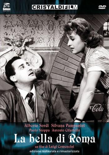 La copertina di La bella di Roma (dvd)